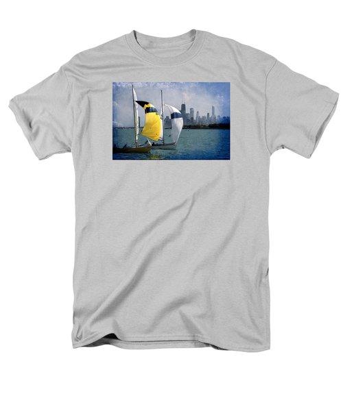 Summer Day Men's T-Shirt  (Regular Fit) by Milena Ilieva