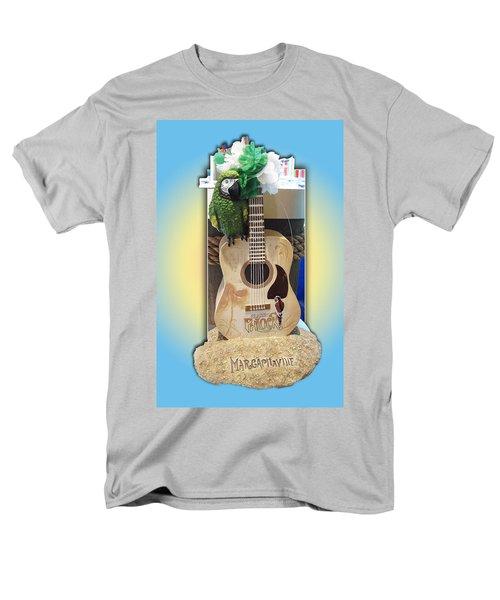 Men's T-Shirt  (Regular Fit) featuring the photograph Summer Guitar by Barbara McDevitt