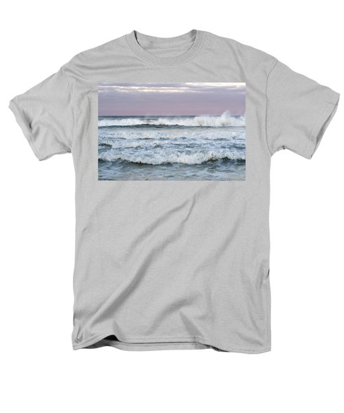 Summer Waves Seaside New Jersey Men's T-Shirt  (Regular Fit) by Terry DeLuco