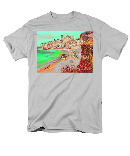 Summertime In Cefalu' Men's T-Shirt  (Regular Fit) by Loredana Messina