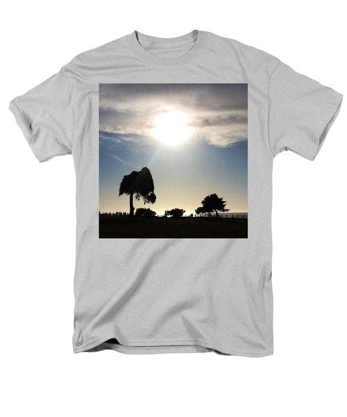Men's T-Shirt  (Regular Fit) featuring the photograph Sunset At La Jolla by Susan Garren