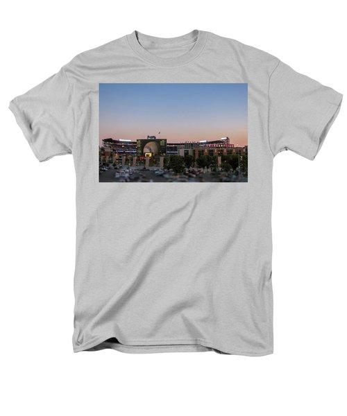 Sunset At Turner Field Men's T-Shirt  (Regular Fit) by Tom Gort
