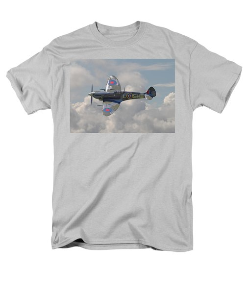 Supermarine Spitfire Men's T-Shirt  (Regular Fit) by Pat Speirs