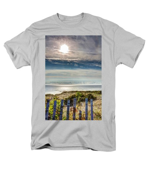 Surfers At Coast Guard Beach Men's T-Shirt  (Regular Fit) by Brian Caldwell