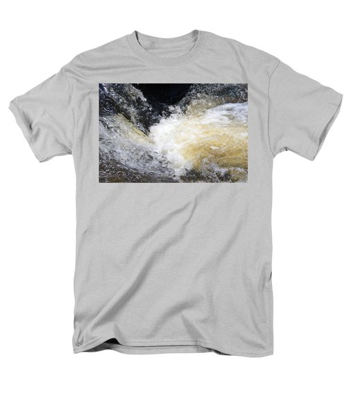 Men's T-Shirt  (Regular Fit) featuring the photograph Surging Waters by Tara Potts