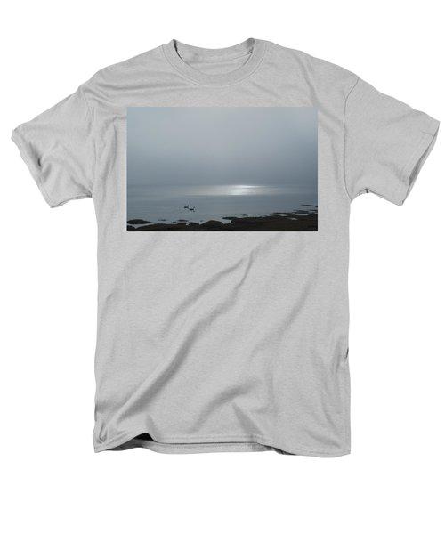 Swans At Sunrise Men's T-Shirt  (Regular Fit) by Rick Mosher