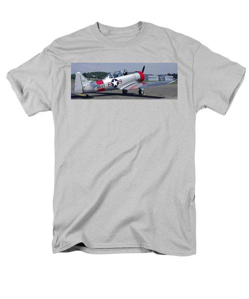 T 6 Navy Trainer Men's T-Shirt  (Regular Fit)