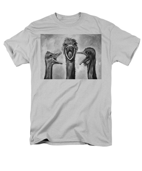 The 3 Tenors Bw Men's T-Shirt  (Regular Fit) by Leah Saulnier The Painting Maniac