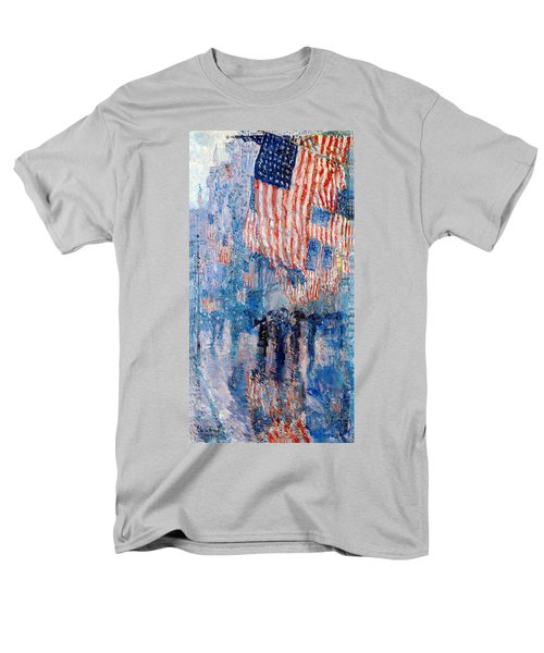 The Avenue In The Rain Men's T-Shirt  (Regular Fit)