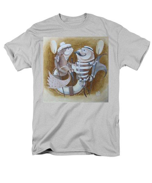 The Beach Men's T-Shirt  (Regular Fit) by Marina Gnetetsky