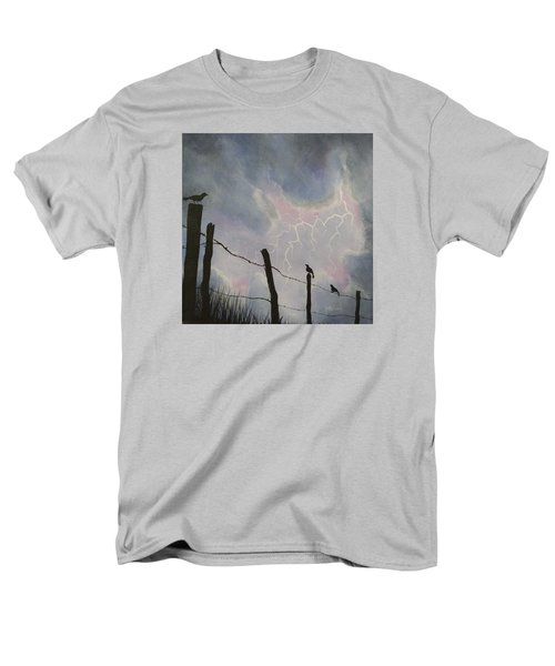 The Birds - Watching The Show Men's T-Shirt  (Regular Fit) by Jack Malloch