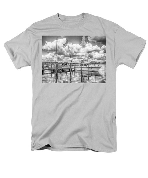 Men's T-Shirt  (Regular Fit) featuring the photograph The Boat by Howard Salmon