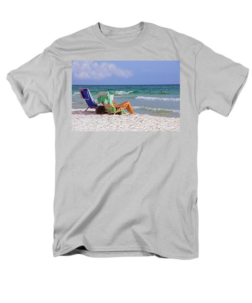 The Emerald Coast Men's T-Shirt  (Regular Fit) by Charles Beeler