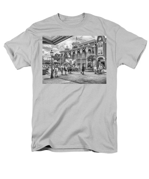 Men's T-Shirt  (Regular Fit) featuring the photograph The Emporium by Howard Salmon