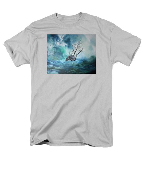 The Endurance At Sea Men's T-Shirt  (Regular Fit) by Jean Walker