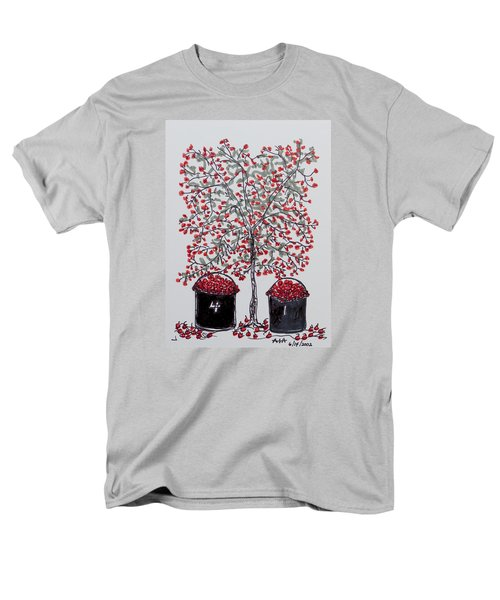 The Famous Door County Cherry Tree Men's T-Shirt  (Regular Fit) by AndyJack Andropolis