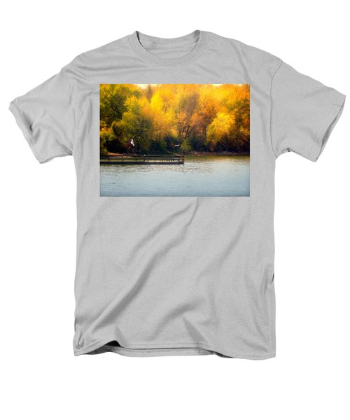 The Golden Hour Men's T-Shirt  (Regular Fit) by Lucinda Walter