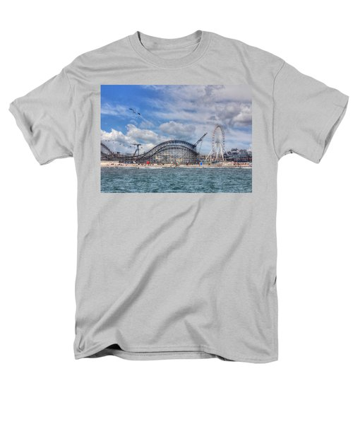 The Jersey Shore Men's T-Shirt  (Regular Fit) by Lori Deiter