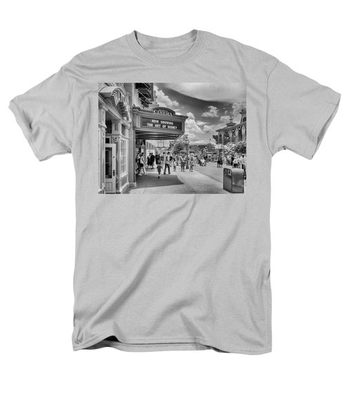 The Main Street Cinema Men's T-Shirt  (Regular Fit) by Howard Salmon