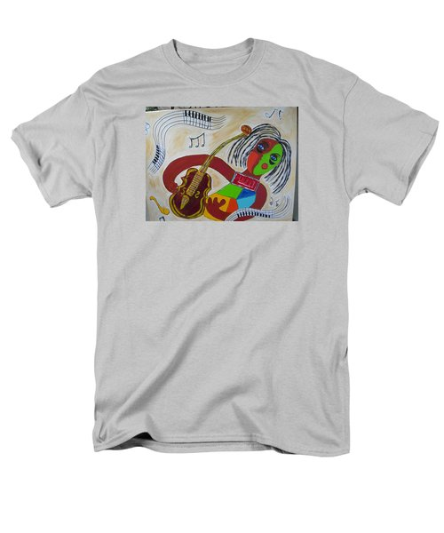 The Music Practitioner Men's T-Shirt  (Regular Fit) by Sharyn Winters