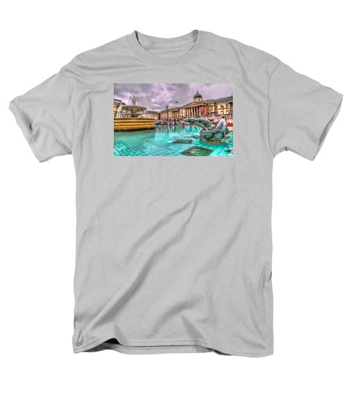 The National Gallery In Trafalgar Square Men's T-Shirt  (Regular Fit) by Tim Stanley