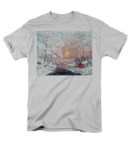 The Quest Begins Men's T-Shirt  (Regular Fit)