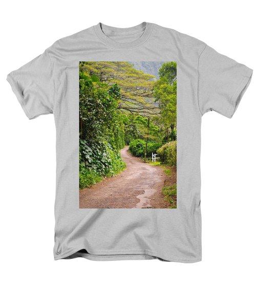 The Road Less Traveled Men's T-Shirt  (Regular Fit) by Denise Bird