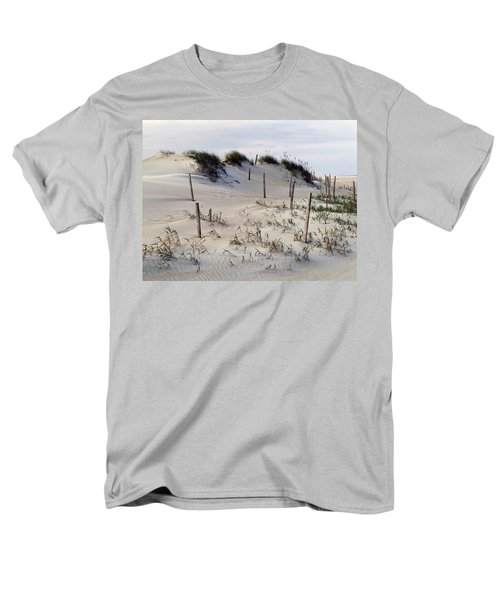 Men's T-Shirt  (Regular Fit) featuring the photograph The Sands Of Obx by Greg Reed