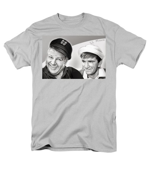The Skipper And Gilligan Men's T-Shirt  (Regular Fit) by Greg Joens
