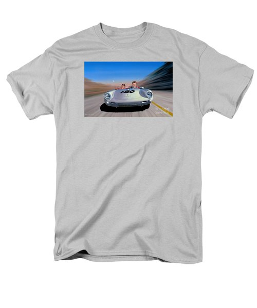 Men's T-Shirt  (Regular Fit) featuring the painting The Spirit Lives by Michael Swanson