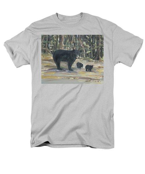 Cubs - Bears - Goldilocks And The Three Bears Men's T-Shirt  (Regular Fit) by Jan Dappen