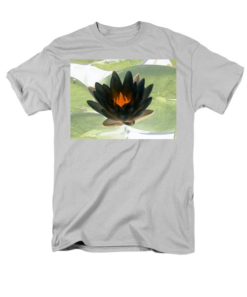 Men's T-Shirt  (Regular Fit) featuring the photograph The Water Lilies Collection - Photopower 1037 by Pamela Critchlow