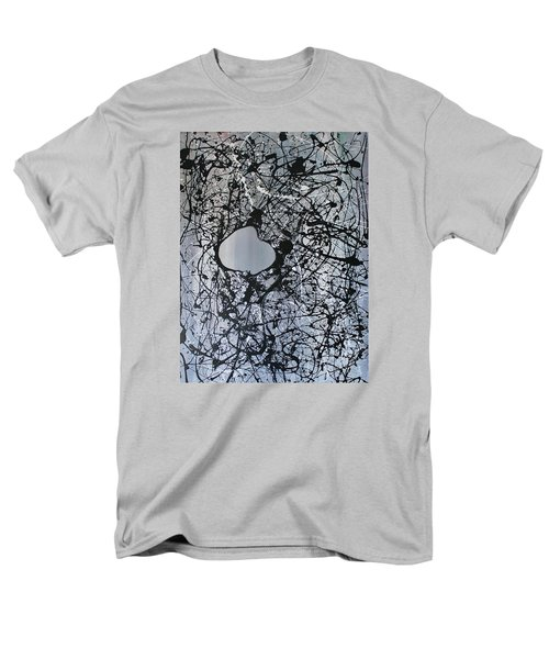 Men's T-Shirt  (Regular Fit) featuring the painting There Is A Hole In The Bucket by Michael Cross
