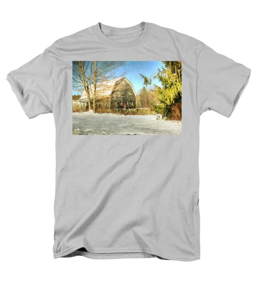 This Old Barn Men's T-Shirt  (Regular Fit) by Tina  LeCour