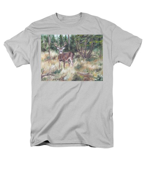 Men's T-Shirt  (Regular Fit) featuring the painting Too Tempting by Lori Brackett