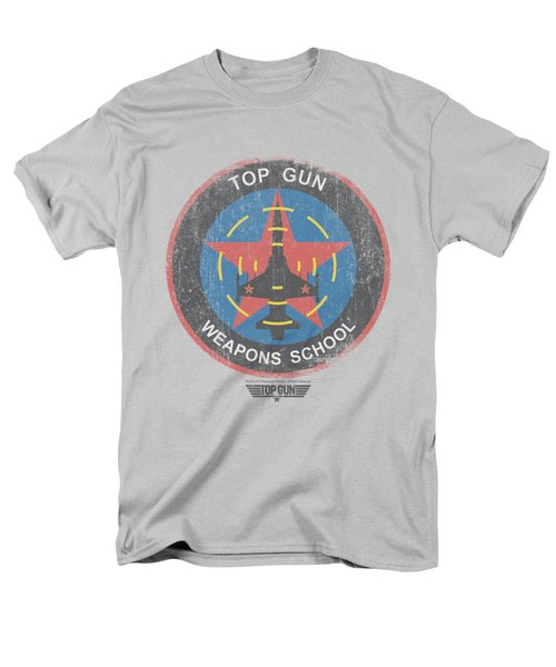 Top Gun - Flight School Logo Men's T-Shirt  (Regular Fit) by Brand A