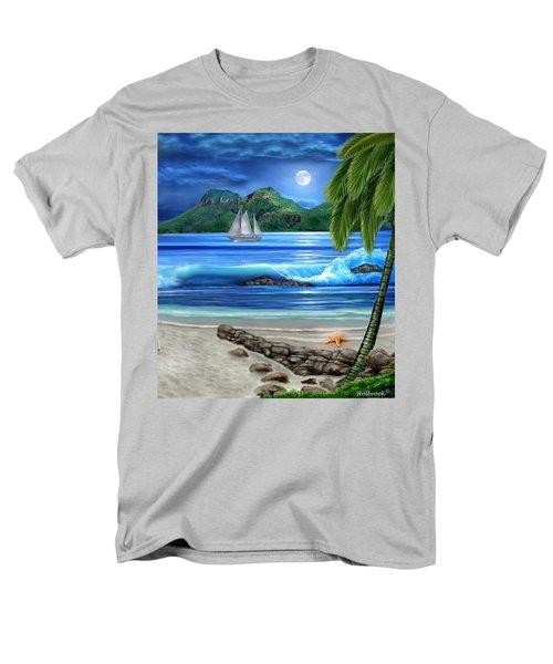 Tropical Paradise Men's T-Shirt  (Regular Fit) by Glenn Holbrook