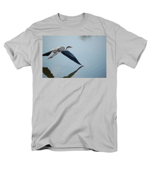 Touch The Water With A Wing Men's T-Shirt  (Regular Fit) by Randy J Heath