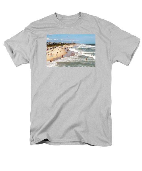 Tourist At Kure Beach Men's T-Shirt  (Regular Fit)