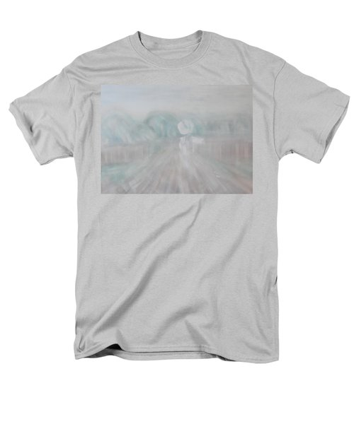 Men's T-Shirt  (Regular Fit) featuring the painting Towards The New Year by Min Zou