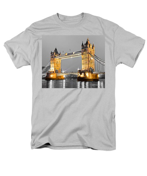 Tower Bridge - London - Uk Men's T-Shirt  (Regular Fit) by Luciano Mortula