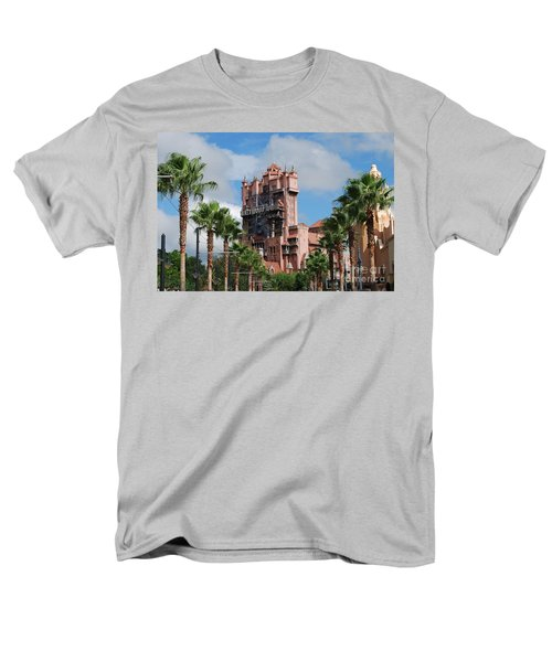 Tower Of Terror  Men's T-Shirt  (Regular Fit) by Eric Liller