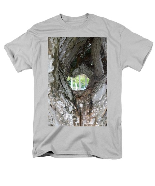 Men's T-Shirt  (Regular Fit) featuring the photograph Tree View by Rafael Salazar