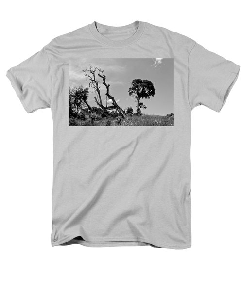 Men's T-Shirt  (Regular Fit) featuring the photograph Trees In Cloud Forest by Lana Enderle