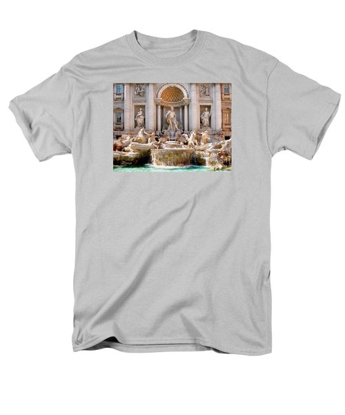 3 Coins Trevi. Rome Men's T-Shirt  (Regular Fit) by Jennie Breeze