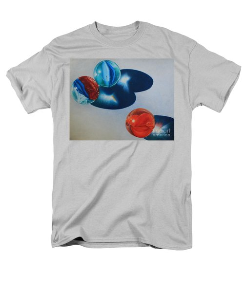Men's T-Shirt  (Regular Fit) featuring the painting Trio by Pamela Clements