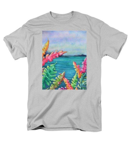 Tropical Scene Men's T-Shirt  (Regular Fit)
