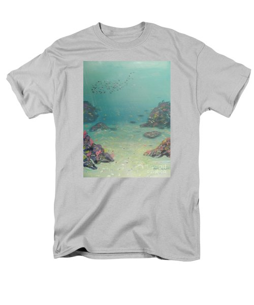 Under The Sea Men's T-Shirt  (Regular Fit) by Pamela  Meredith