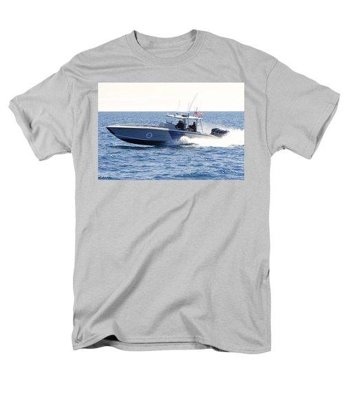 Us Customs At Work Men's T-Shirt  (Regular Fit) by Shoal Hollingsworth
