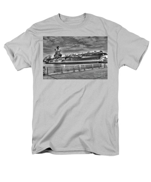 Uss Intrepid Men's T-Shirt  (Regular Fit) by Anthony Sacco